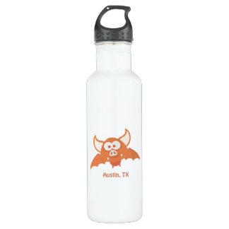 Orange Bat - Austin, TX Stainless Steel Water Bottle