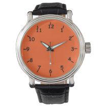 Orange Bay Black Watches