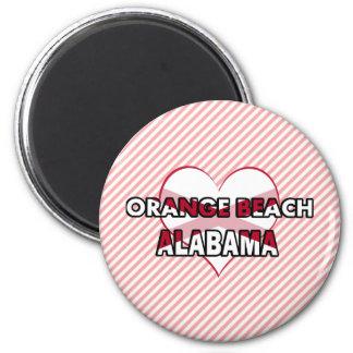 Orange Beach, Alabama Refrigerator Magnet