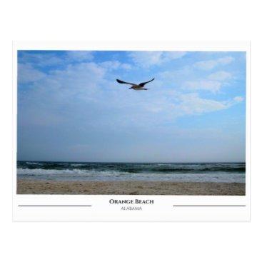 Beach Themed Orange Beach Alabama Postcard