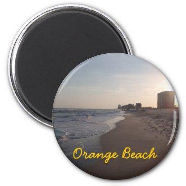 Beach Themed Orange Beach magnet