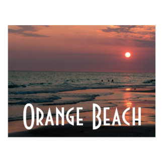 Orange Beach Postcard