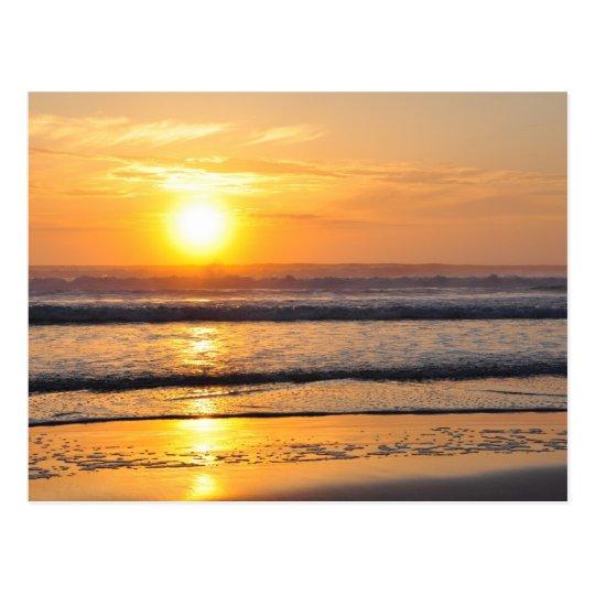 Orange Beach Sunrise Wilbur By The Sea FL Postcard