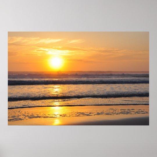 Orange Beach Sunrise Wilbur By The Sea FL Poster