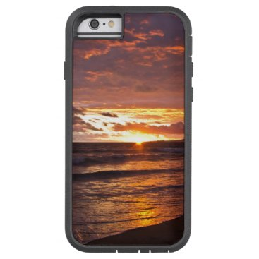 Beach Themed Orange Beach Sunset after the Storm Tough Xtreme iPhone 6 Case