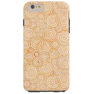 Orange Beach Sunset Outlines - Device Cases Tough iPhone 6 Plus Case