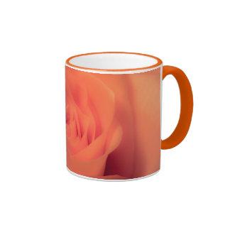 Orange Beauty Ringer Mug