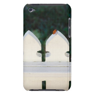 Orange Beetle on Picket Fence iPod Touch Case