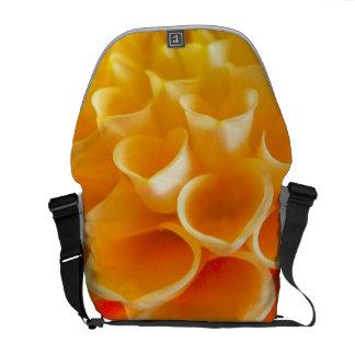 Orange Bells Courier Bag