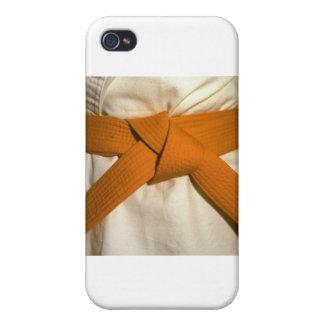 Orange Belt iPhone 4/4S Covers