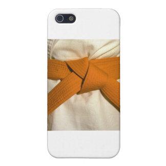 Orange Belt iPhone 5 Covers
