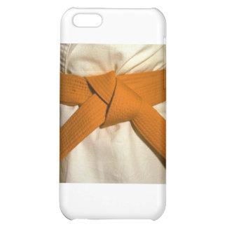 Orange Belt iPhone 5C Cover