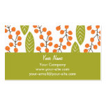 Orange Berries business cards