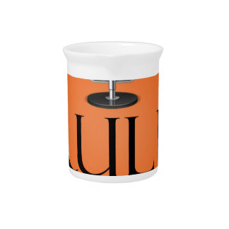 Orange Beverage Pitcher