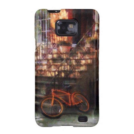 Orange Bicycle by Brownstone Samsung Galaxy S2 Case