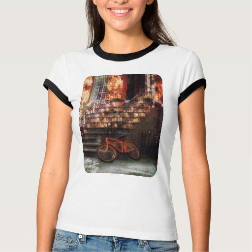 Orange Bicycle by Brownstone T-Shirt