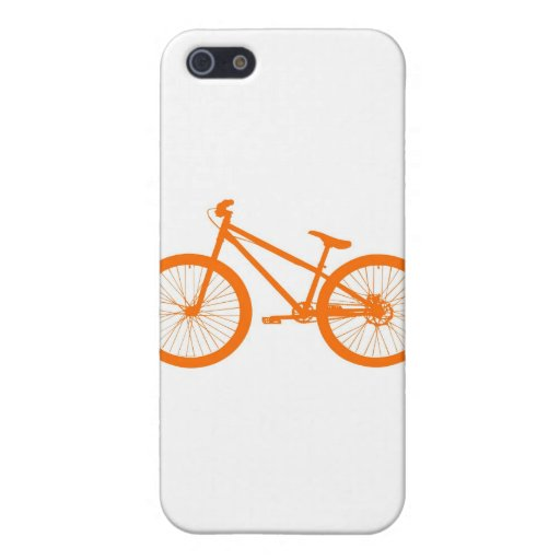 Orange bicycle case for iPhone 5