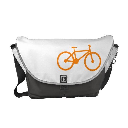 Orange Bicycle Courier Bag