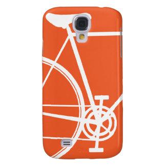 Orange Bicycle Samsung Galaxy Samsung S4 Case