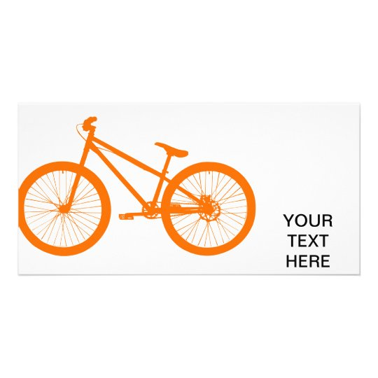 Orange Bike Card