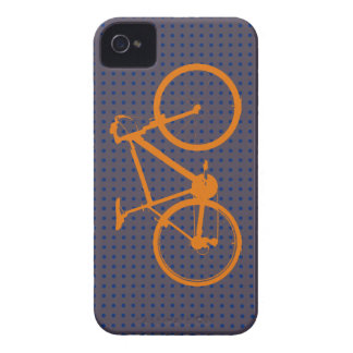 orange bike, cycling Case-Mate iPhone 4 case