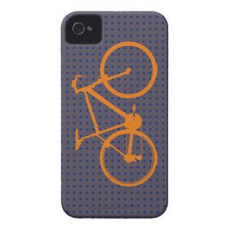 orange bike, cycling iPhone 4 Case-Mate cases