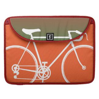 "Orange Bike design Macbook Pro 15"" Laptop Case Sleeve For MacBook Pro"