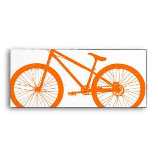 Orange Bike Envelope