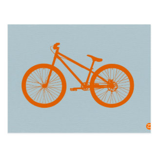 Orange Bike Postcard
