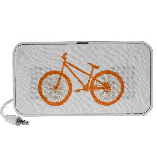 Orange Bike Speaker