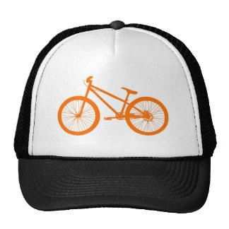 Orange Bike Trucker Hat