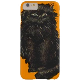 Orange Black Cat Cute Barely There iPhone 6 Plus Case
