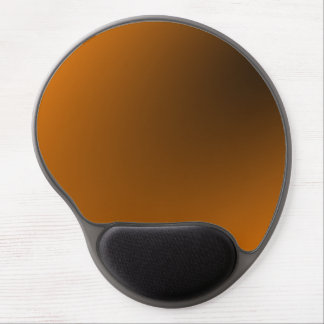 Orange Black Gradient Gel Mouse Pad