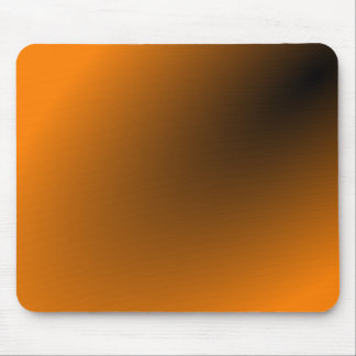Orange Black Gradient Mouse Pad