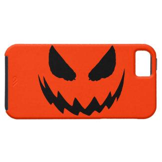 Orange & Black Jack O Lantern iPhone 5 Case