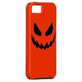 Orange & Black Jack-O-Lantern iPhone Case