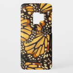 "Orange Black Monarch Butterfly Galaxy S9 Case<br><div class=""desc"">This gorgeous Samsung Galaxy S9 case features a design of lovely Monarch Butterflies (Danaus plexippus) in colors of orange,  yellow,  gold,  black,  brown and white. The fabulous markings resemble an artistic abstract pattern.Perfect for an entomologist or butterfly enthusiast!</div>"