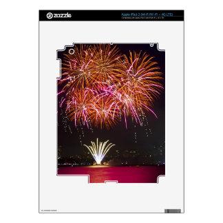Orange Blossom Bursts - Sydney Harbour Fireworks iPad 3 Skin