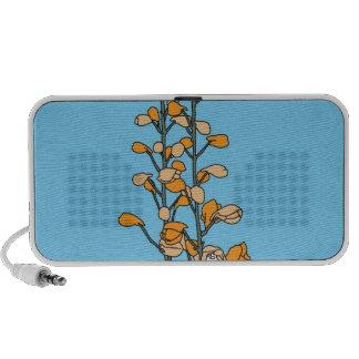 Orange Blossom Mp3 Speakers