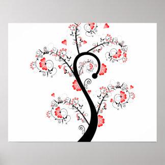 Orange Blossom Tree Print
