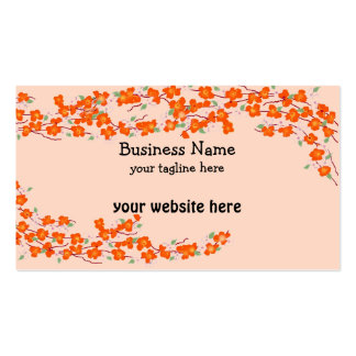 Orange Blossoms Business Card
