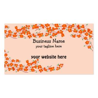 Orange Blossoms Business Card