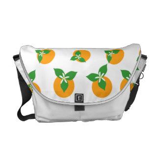 Orange Blossoms Messenger Bag