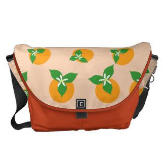 Orange Blossoms Courier Bag