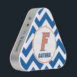 """Orange &amp; Blue Florida F Logo Bluetooth Speaker<br><div class=""""desc"""">Zazzle offers the most exciting and unique gear for the ultimate Florida Gator fan! All of our products are officially licensed and customizable, which makes them perfect for students, alumni, family, fans, and faculty. Whether you are gearing up for tailgating, hosting a party for a Florida fan, or decorating your...</div>"""