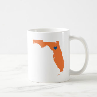 Orange & Blue Florida F Logo Coffee Mug