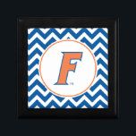 """Orange &amp; Blue Florida F Logo Gift Box<br><div class=""""desc"""">Zazzle offers the most exciting and unique gear for the ultimate Florida Gator fan! All of our products are officially licensed and customizable, which makes them perfect for students, alumni, family, fans, and faculty. Whether you are gearing up for tailgating, hosting a party for a Florida fan, or decorating your...</div>"""