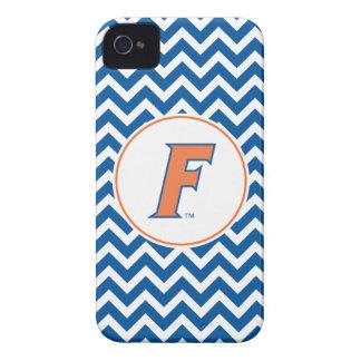 Orange & Blue Florida F Logo iPhone 4 Cover