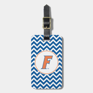 Orange & Blue Florida F Logo Luggage Tag