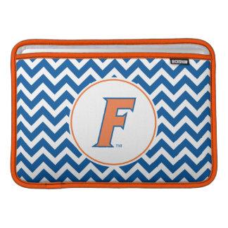 Orange & Blue Florida F Logo MacBook Air Sleeve